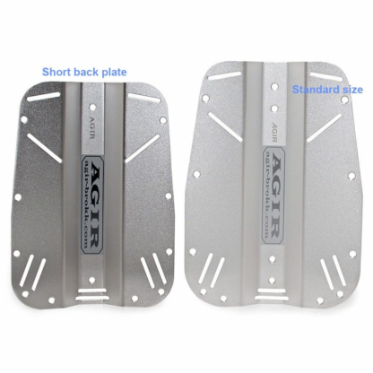 Backplate stainles steel short and regular
