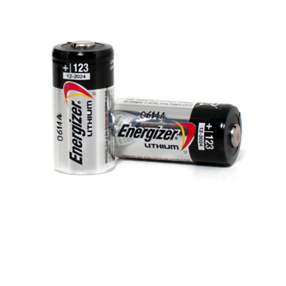 CR123 lithium battery