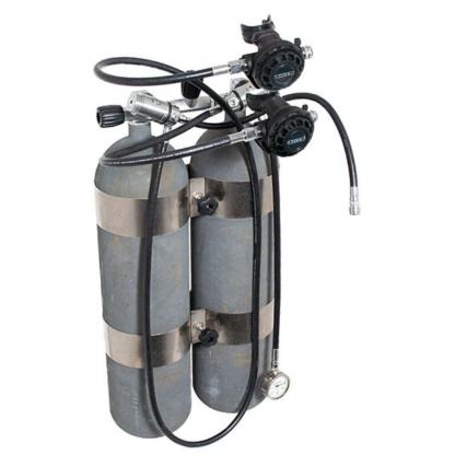 Twin cylinder regulator kit
