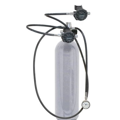 Single cylinder regulator kit